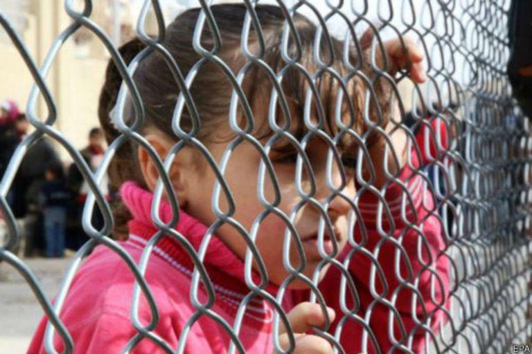 Los chicos sirios  padecen varias penurias en los campos de refugiados creados para protegerlos