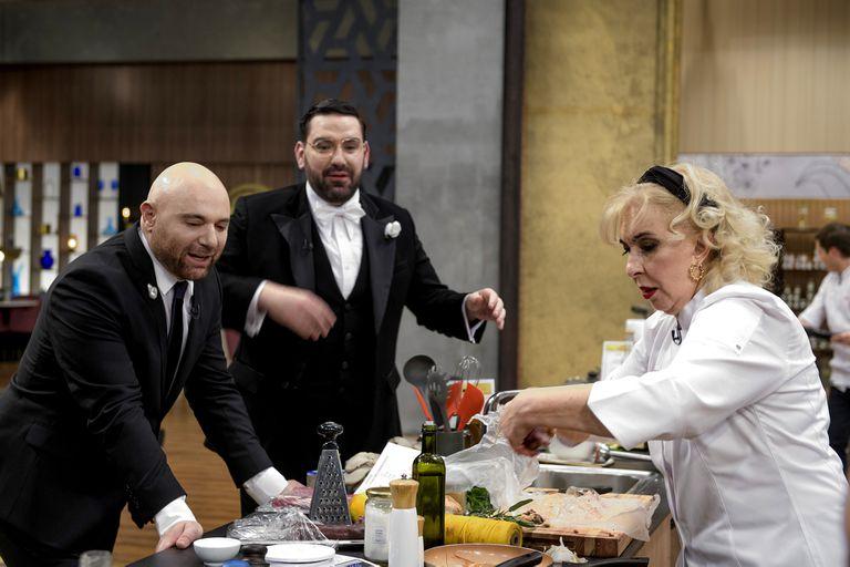 Georgina Barbarossa y la última vez en la cocina de MasterChef Celebrity junto al jurado
