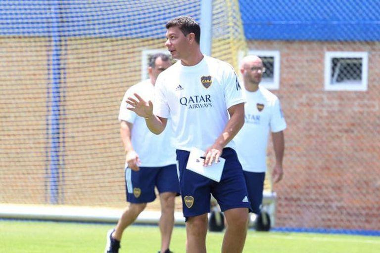 Battaglia, nuevo DT de Boca