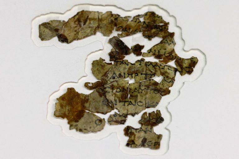 El pergamino bíblico de 2000 años de antigüedad