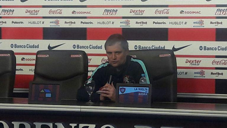 Diego Aguirre confía en el crecimiento de su equipo