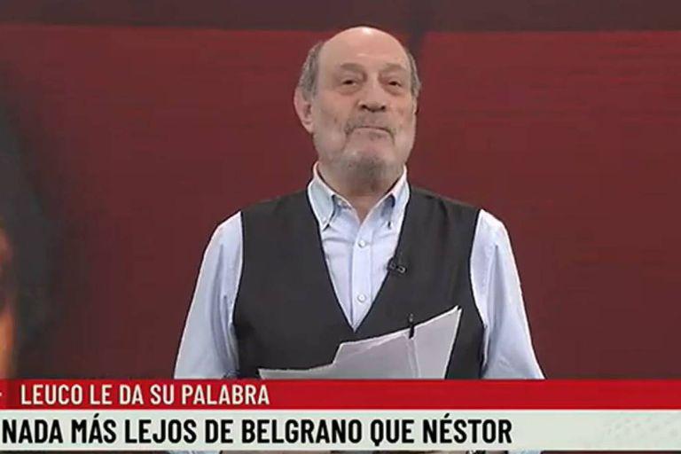 Alfredo Leuco aprovechó la fecha patria del Día de la Bandera pare recordar a Manuel Belgrano y hacer una comparación del prócer con Néstor Kirchner