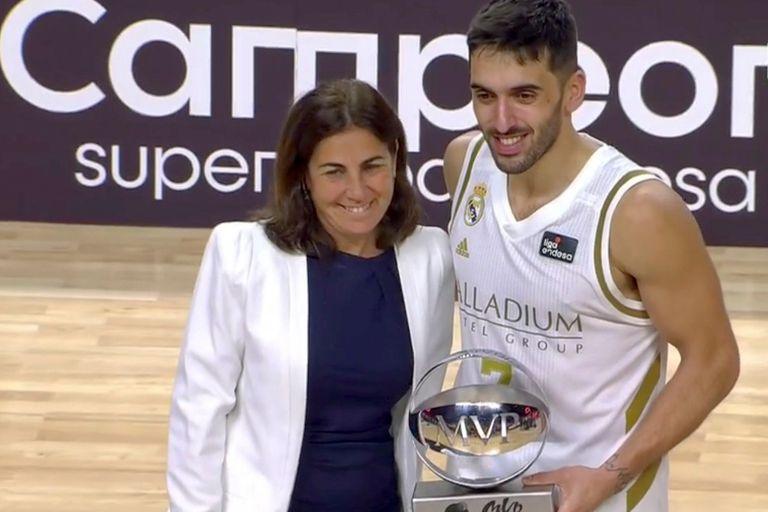 Facundo Campazzo fue el MVP en la final ante Barcelona