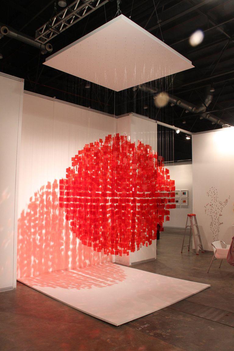 Móvil de Julio Le Parc, uno de los grandes protagonistas de arteBA 2012