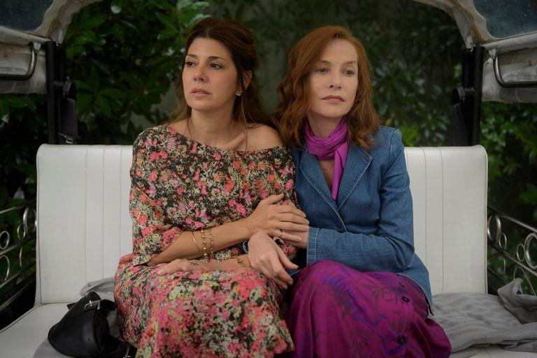 Una tragicómica Isabelle Huppert brilla en Frankie