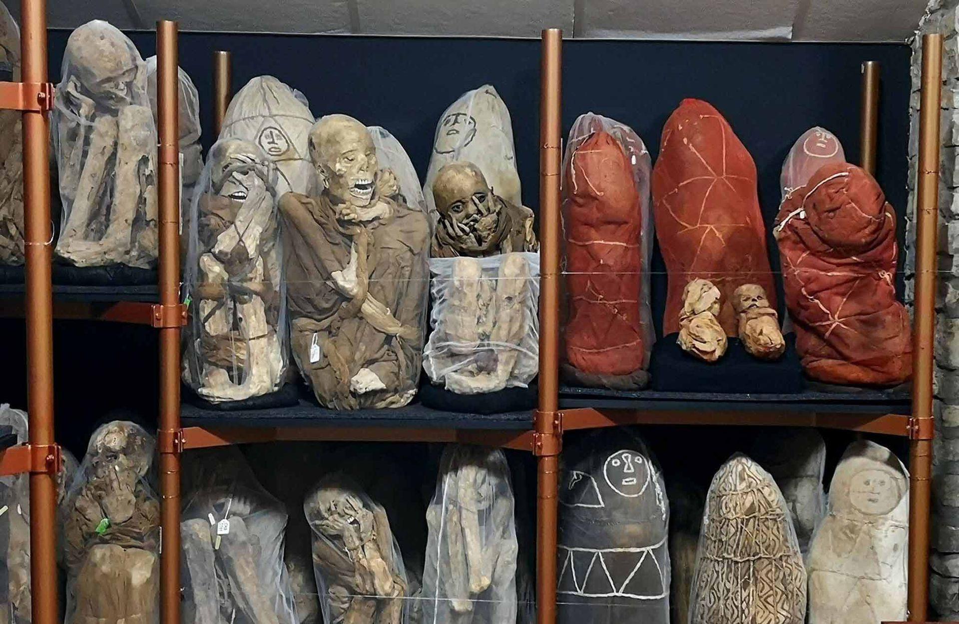 Las momias de Leymebamba en Chachapoyas.