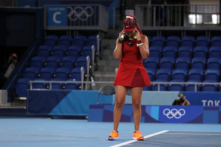 Tokio 2020. Otra sorpresa en tenis: Naomi Osaka se despidió con una dura derrota
