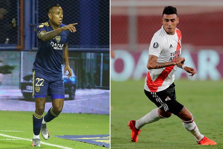 Juegan Boca, River, Racing e Independiente por las copas: días, horarios y TV