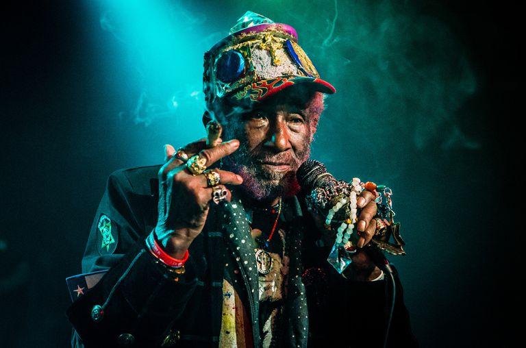 Murió Lee Scratch Perry, pionero de la música reggae