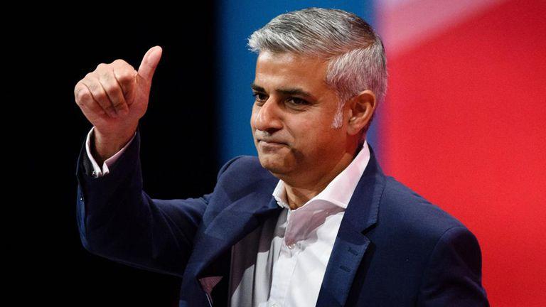 Sadiq Khan, apuesta por un segundo mandato como alcalde de Londres