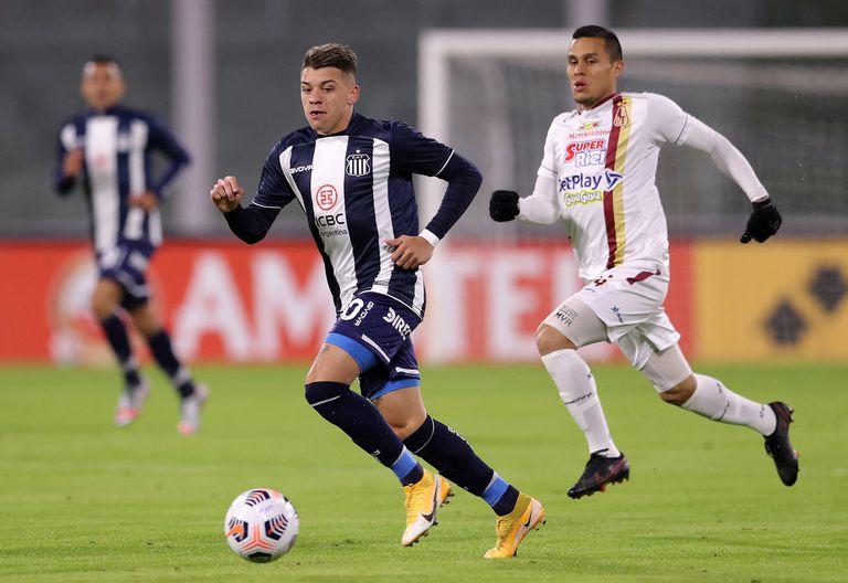 En Córdoba. Talleres dejó pasar una buena chance y se lesionó su mejor atacante