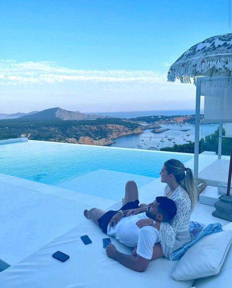 El Kun y Sofía, románticos en Ibiza