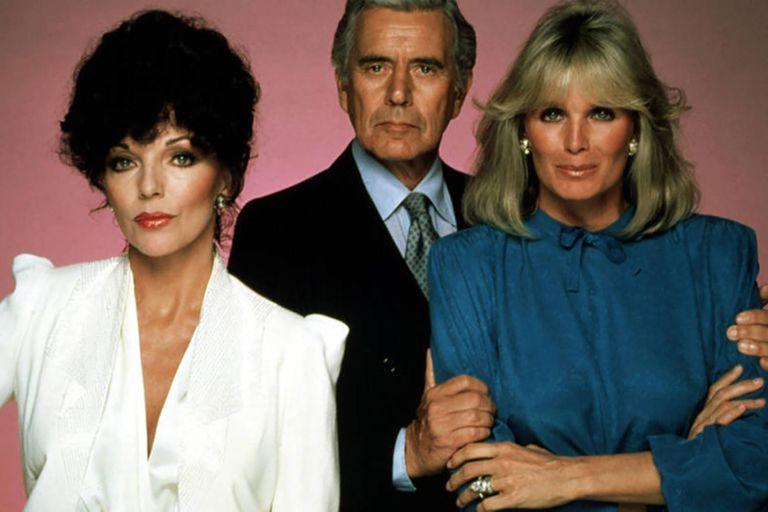 Dinastía: glamour, golpes, cambios de cara y un beso que sembró polémica