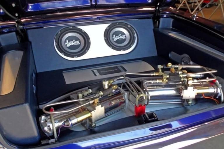 El taller especializado colocó un potente sistema de sonido