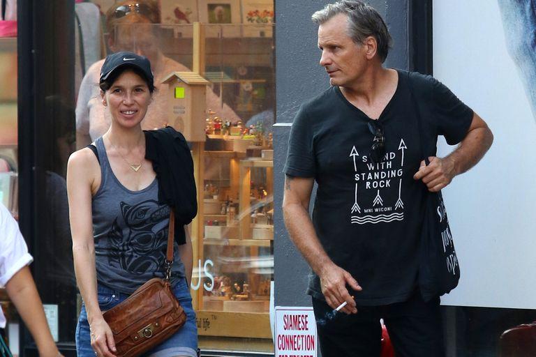 Ariadna Gil y Viggo Mortensen, por las calles de España