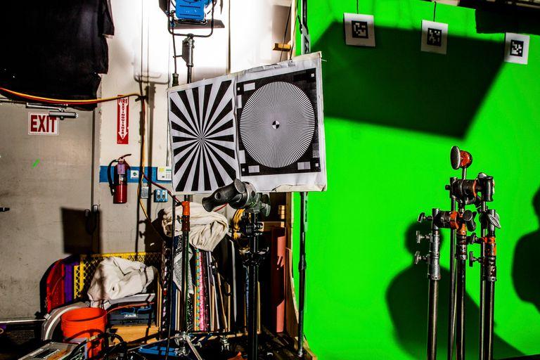 Las marcas son usadas para calibrar las cámaras que suministran información al software