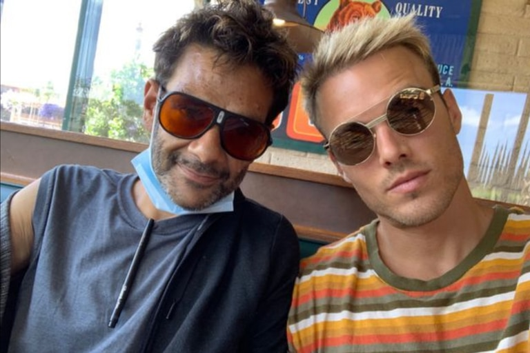 Shaun y Drew en junio del 2020