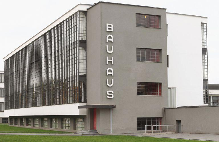 El edificio de la Bauhaus, en Dessau