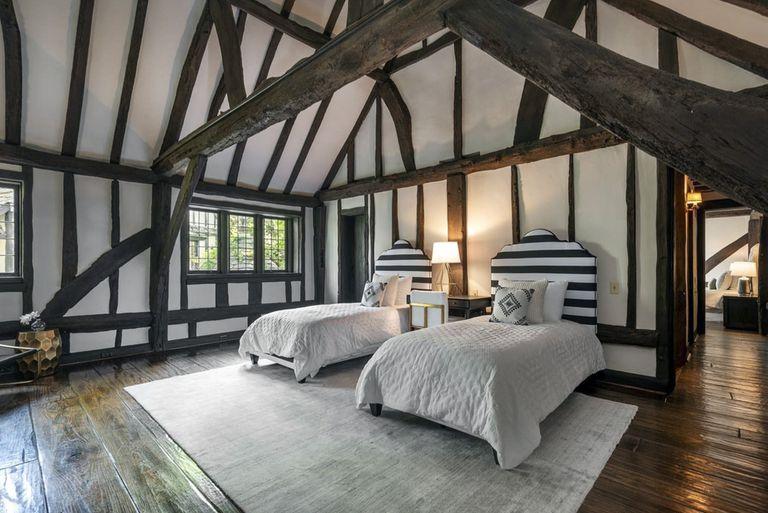El dormitorio para huéspedes