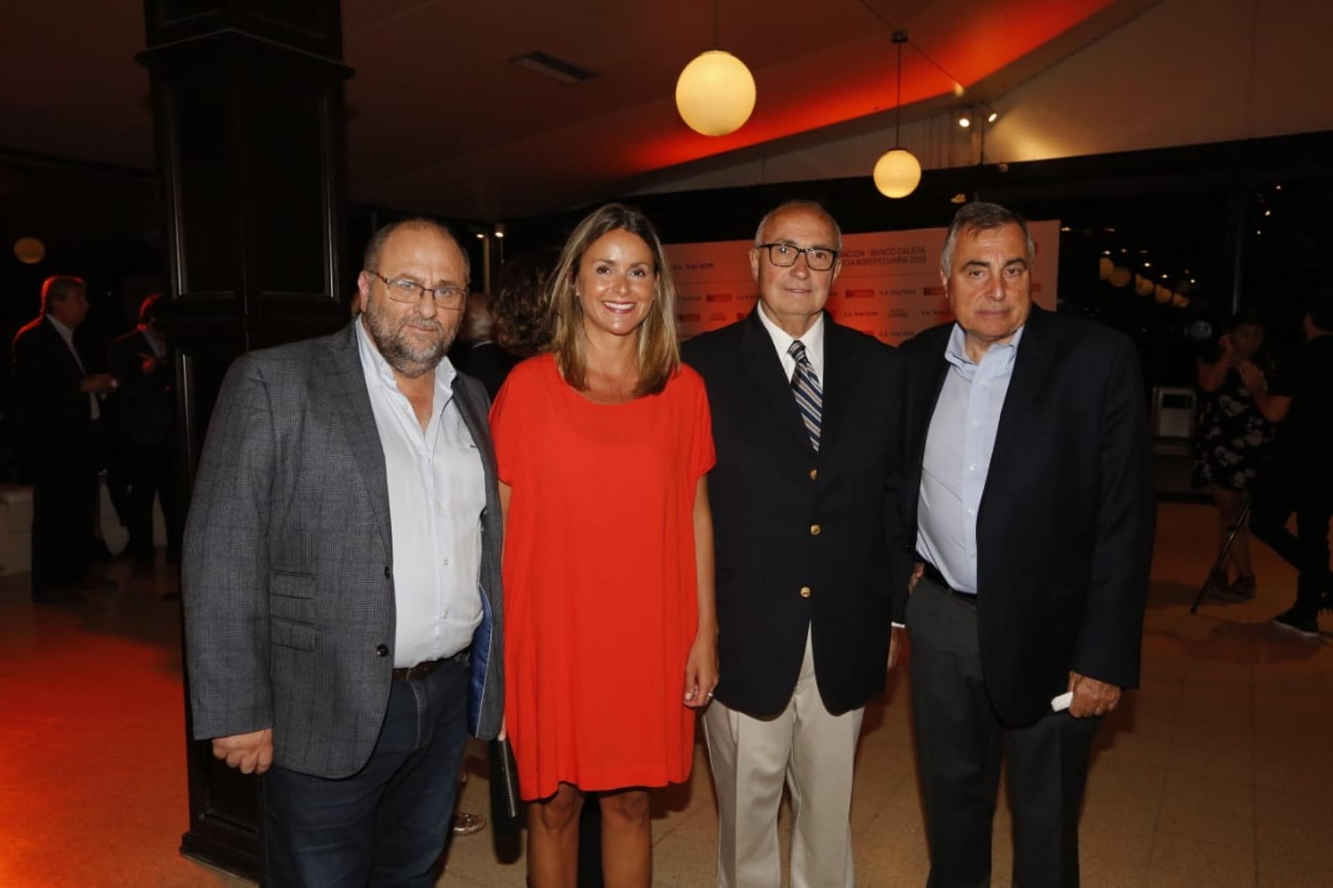 Juan Grassa, Marisa Bircher, Rodolfo Rossi y Ricardo Yapur