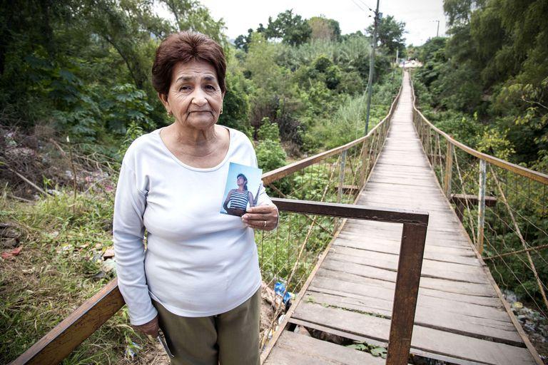 Elida, madre de Liliana Ledesma, asesinada por denunciar a Delfín Castedo