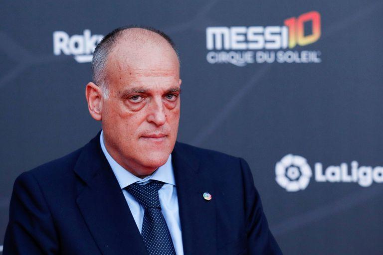 Javier Tebas castigó la gestión económica de Barcelona y ponderó la pericia  de Real Madrid en la pandemia - LA NACION