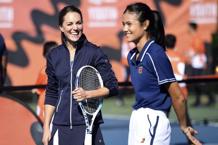 Jugar con la duquesa de Cambridge la puso más nerviosa que la final del US Open