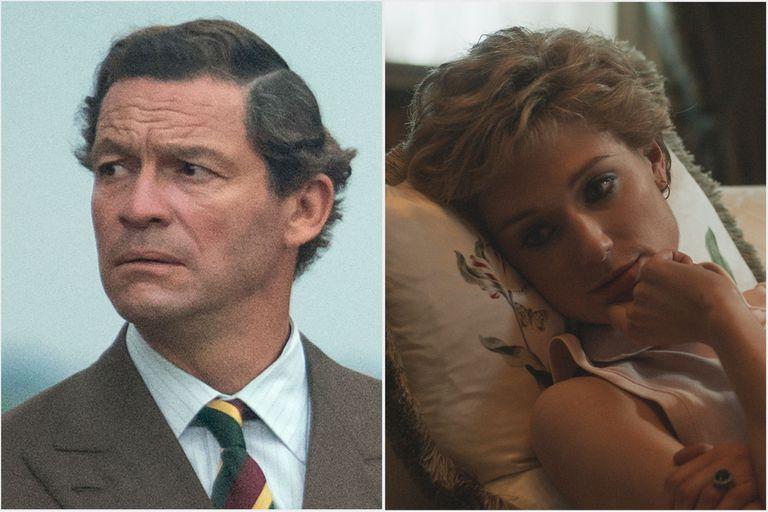The Crown: se revelaron las primeras imágenes de Carlos y Diana en la quinta temporada