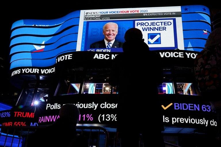 Las proyecciones los ven triunfadores en la Cámara de Representantes, donde ya eran mayoría, y tienen chances de arrebatarle el Senado a los republicanos