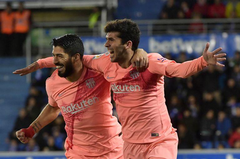 Barcelona le ganó a Alavés y está a un paso de conquistar la Liga de España