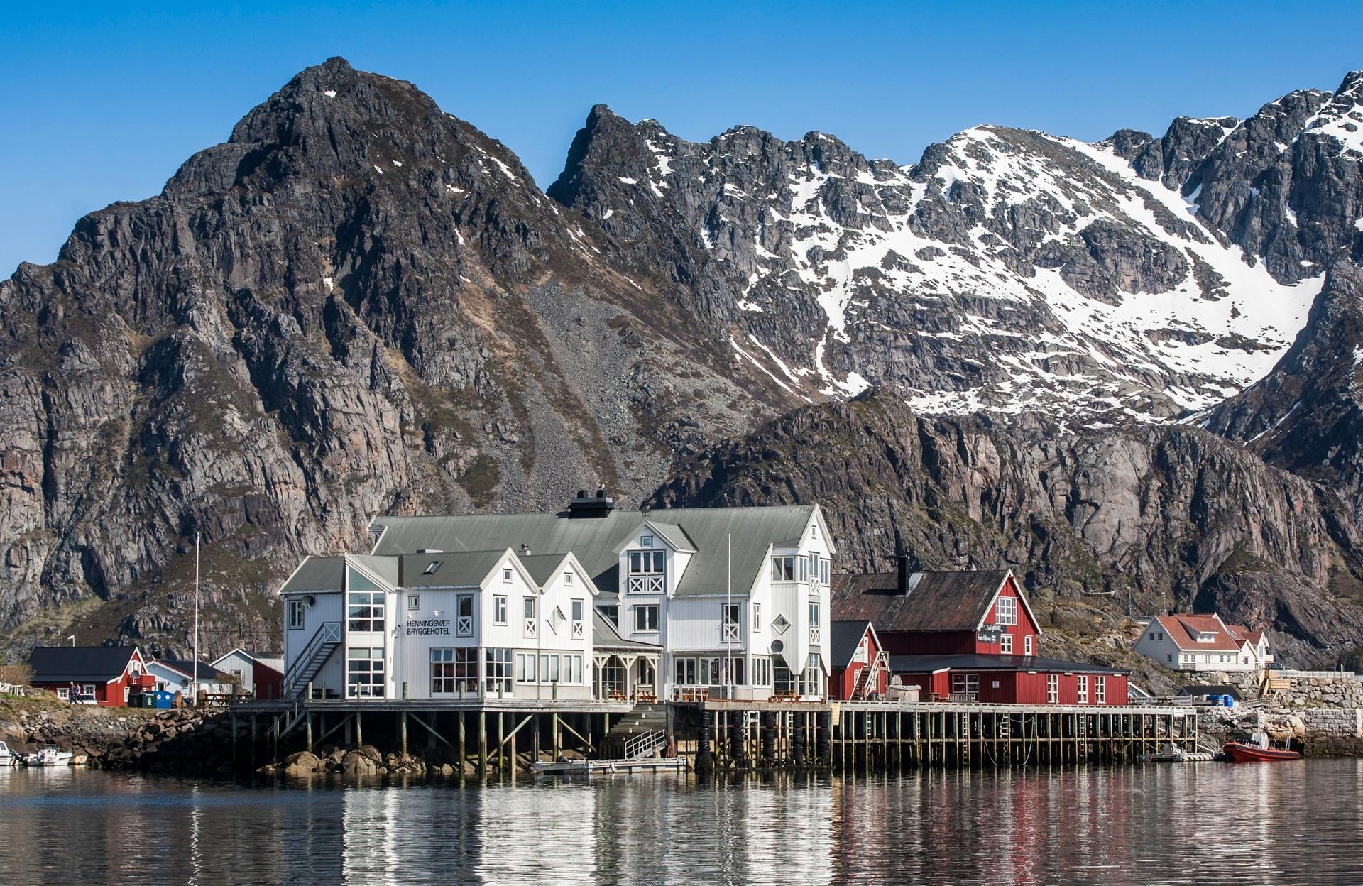 Henningsvær, Noruega.