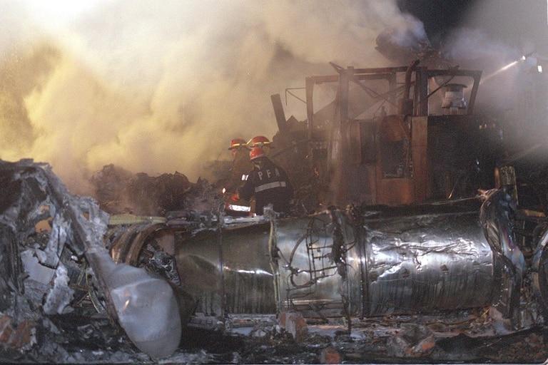 En el accidente, murieron 65 personas y 34 resultaron heridas