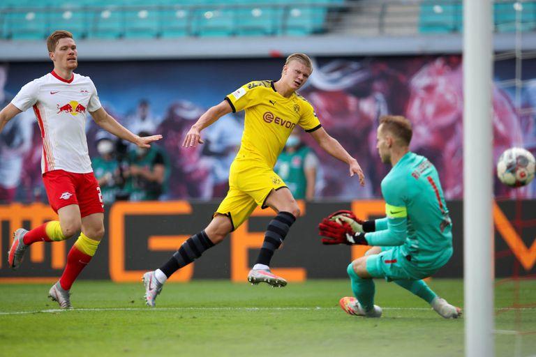 Bundesliga. El ADN de Haaland, la máquina noruega del gol: atletismo y fútbol