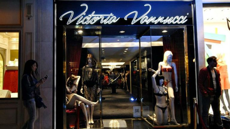 El local de Victoria Vannucci cerró sus puertas