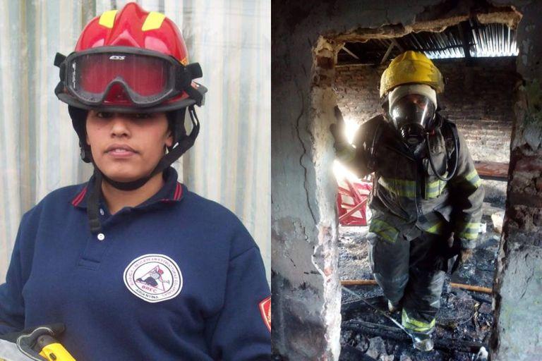 """Es bombera voluntaria y vio cómo un techo aplastaba a sus compañeros: """"Hay situaciones que duelen y no se olvidan"""""""