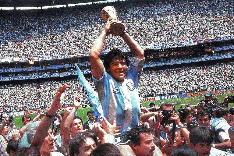 El eslabón inglés fue la plataforma final para la gran consagración de Diego Maradona y del seleccionado en México '86