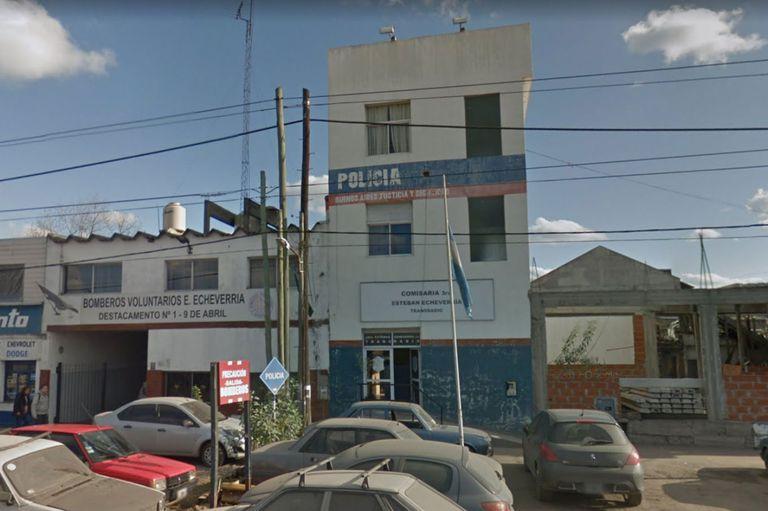 Cuatro muertos en un motín con incendio en una comisaría de Esteban Echeverría