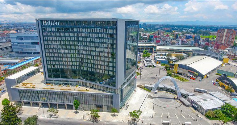 La zona de Corferias se potencia con el primer hotel de cadena, junto al centro de convenciones y el predio ferial más grande de Colombia