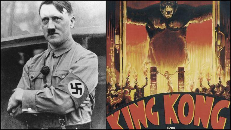 Adolf Hitler era fanático de King Kong