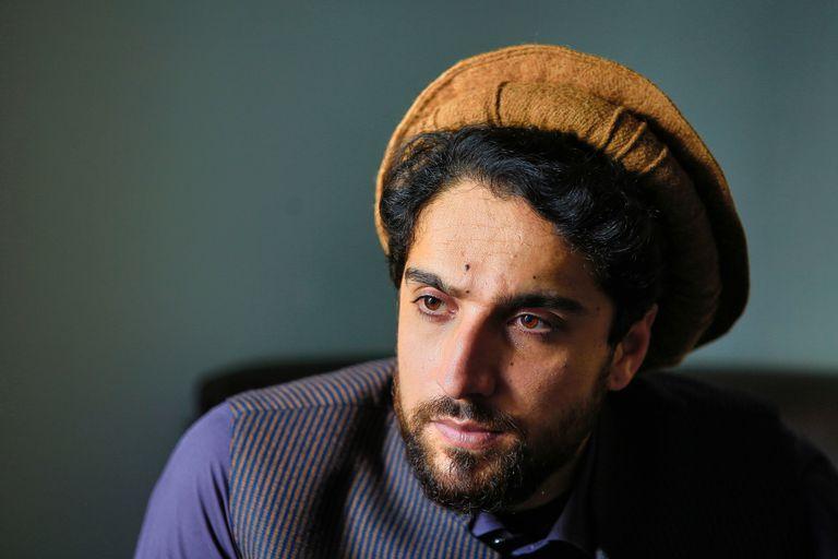 Ahmad Masud, el hijo del unificador Ahmad Shah Masud, actual líder de la resistencia a los talibanes.
