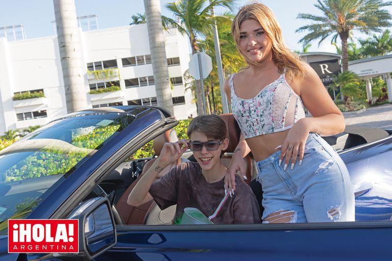 Las fotos de las espectaculares vacaciones de Marta y Felipe, los hijos de Ricardo Fort