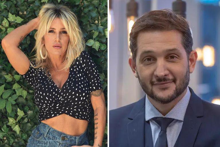 El inesperado piropo de Florencia Peña a Germán Paoloski en vivo