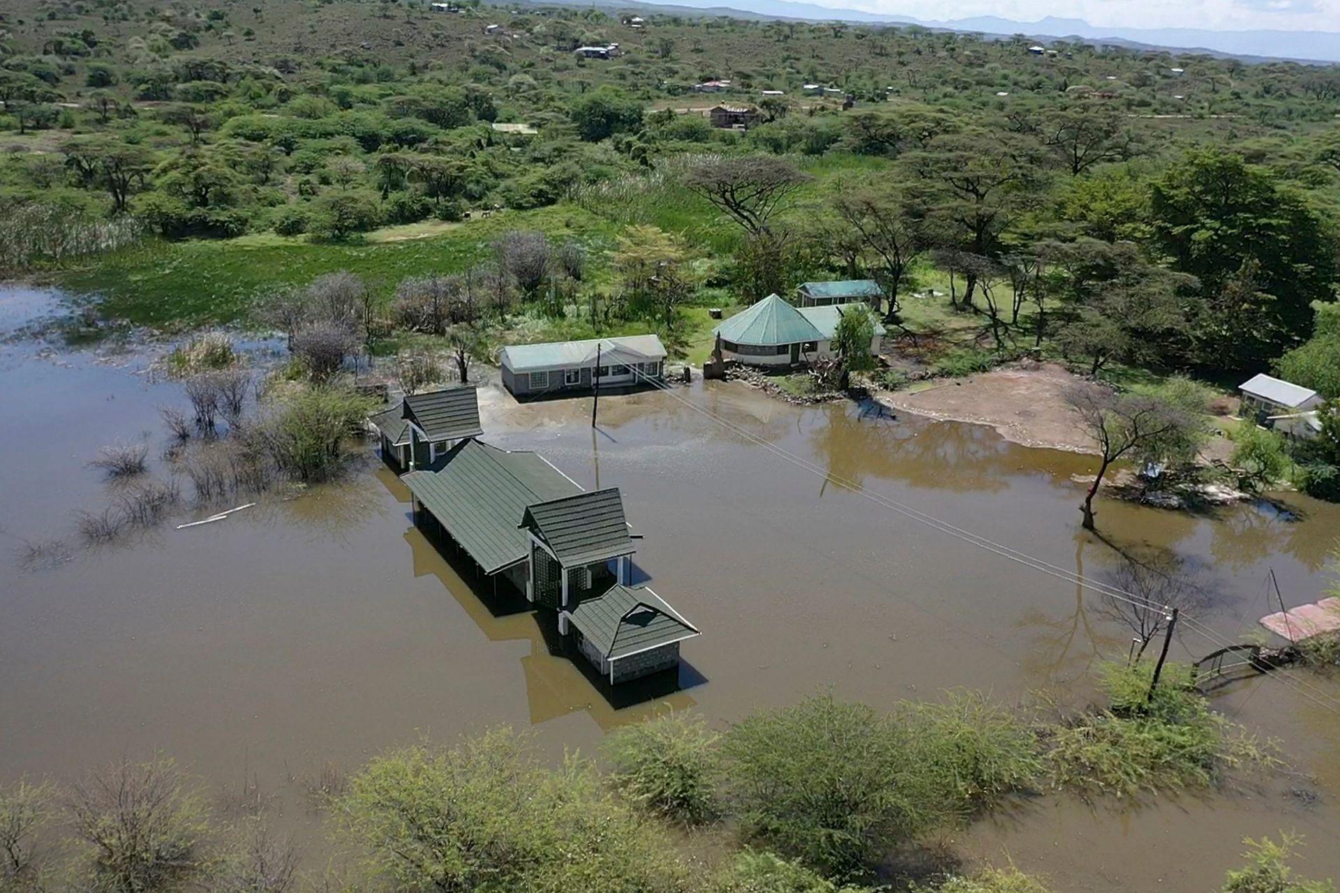 En algunos casos, el nivel de las aguas ha crecido varios metros este año