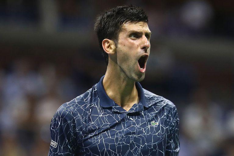 Djokovic le ganó a Millman, es semifinalista del US Open y acecha a Del Potro