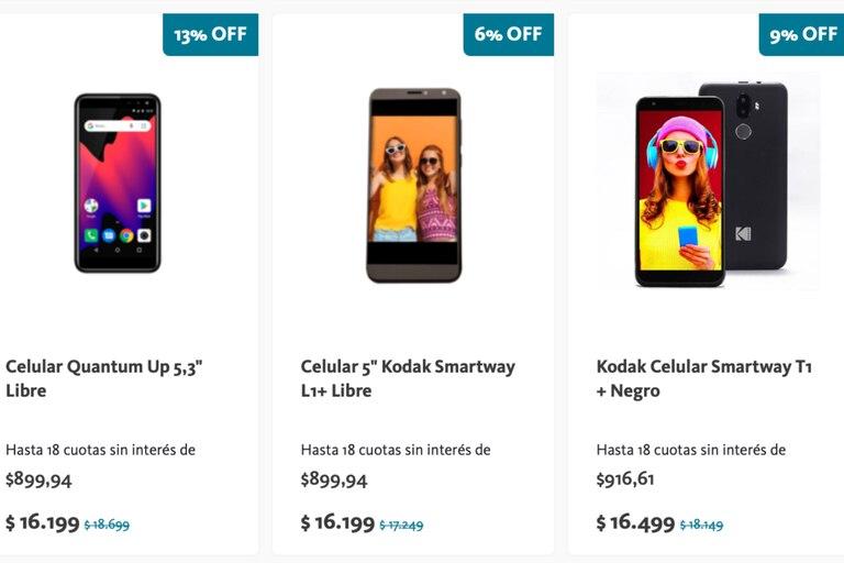 El BNA lanzó una promoción para la compra de teléfonos celulares en 18 cuotas sin interés, que comienza el martes 2 y finaliza el jueves 4 de marzo