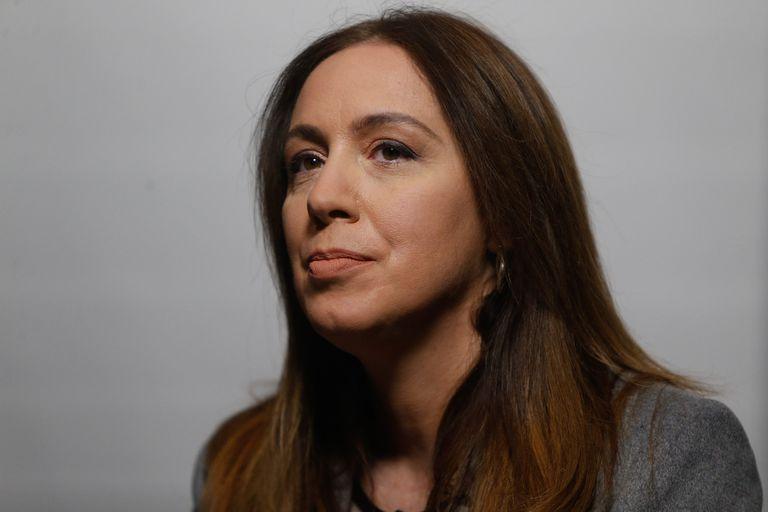 María Eugenia Vidal reaccionó a las críticas de Aníbal Fernández