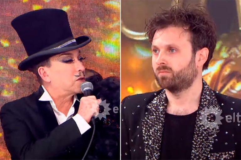 Cantando 2020: Dan Breitman y Aníbal Pachano volvieron a encontrarse cara a cara