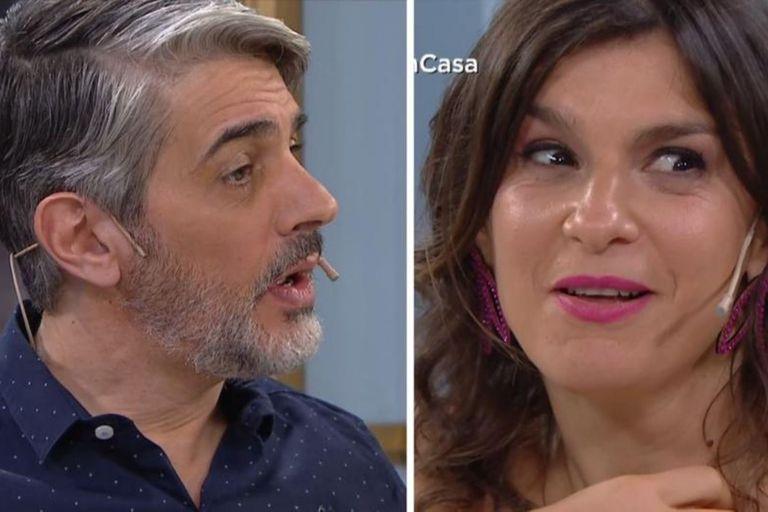 "El piropo de Dalia Gutmann que hizo sonrojar a Pablo Echarri: ""Ay, por favor"""