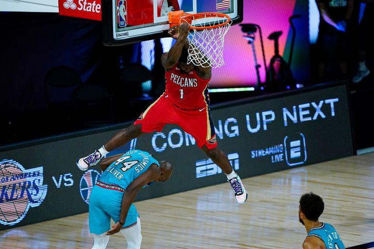 Potente y espectacular: las volcadas de Zion Williamson son estremecedoras; es el hombre llamado a dominar la NBA en la próxima década