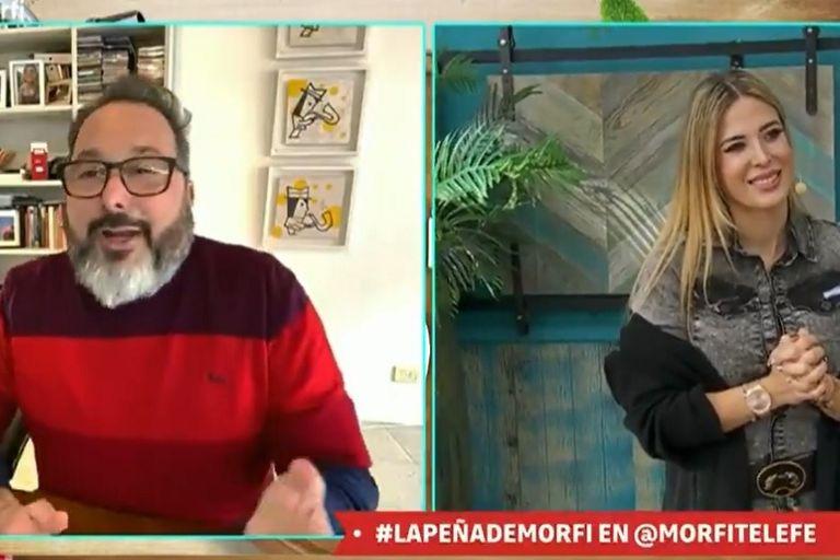 Regreso: Gerardo Rozín volvió a La peña de Morfi y habló de su salud